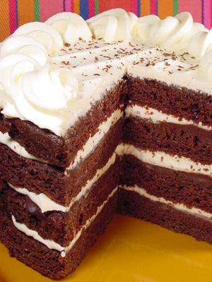 Cold Fudge Sundae Cake