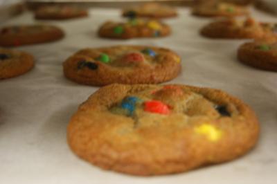 Rosie's M & M Cookies