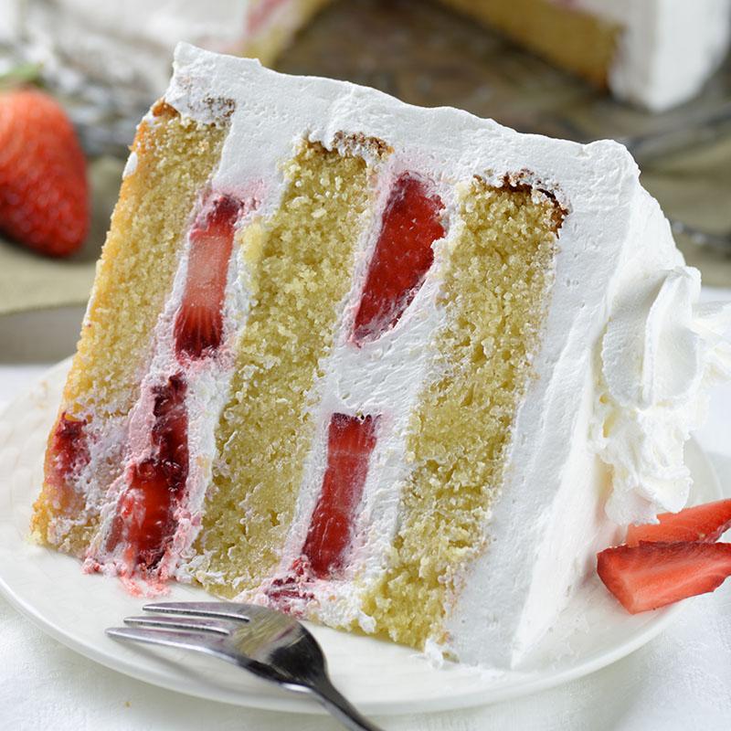 Small Vanilla Cake Recipe From Scratch
