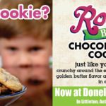 Chocolate Chip Cookies are now available freshly baked and available at 4 Donelan's Supermarkets